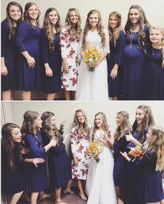 Source: Laura D ig Duggar Sisters, Duggar Girls, Duggar Family Blog, Bates Family Blog, Modest Fashion, Girl Fashion, Duggar Wedding, Dugger Family, Never Getting Married
