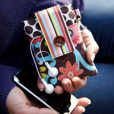 Ella Grace iPhone/Media Wallet ($18 Etsy) - Inspiration