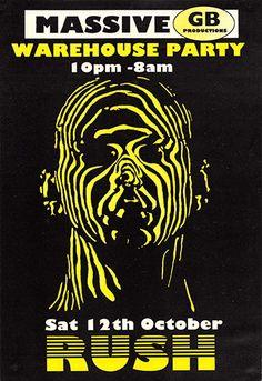 Oldschool Rave Flyer Archive 1980's-2000's. Rave Preservation Project.