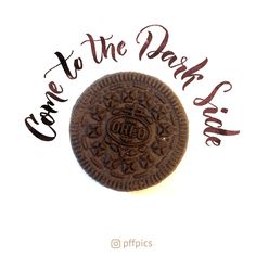 Come to the Dark Side, we have cookies via pffpics  #starwars #oreo #gif #lettering