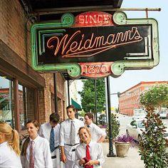 Weidmann's in Meridian, MS.