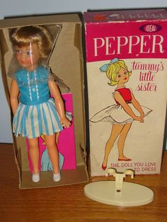 Me and My Tammy Doll: Straight-legged Pepper
