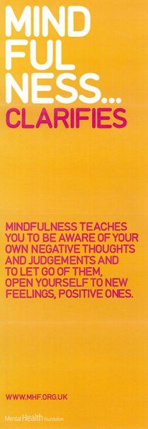 Mindfulness teaches you to be aware of your own negative thoughts and judgements and to let go of them, open yourself to new feelings, positive ones. Mantra, Positive Quotes For Life Happiness, Quotes Positive, Affirmations, Motivational Quotes, Inspirational Quotes, Yoga Quotes, Stress, The Words