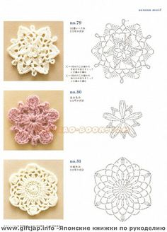 ondori crochet flowers. Had some of these for my christmas tree and I was just wondering how to make them to replace the one's that are stained and ragged.
