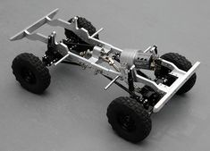 Land Rover Scale Chassis Sneak Preview - Scale 4x4 R/C Forums