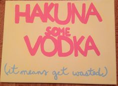 Made this sign for my dorm