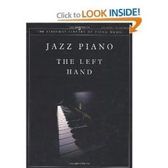 Jazz Piano: The Left Hand (Steinway Library of Piano Music): Riccardo Scivales: 0038081268088: Amazon.com: Books
