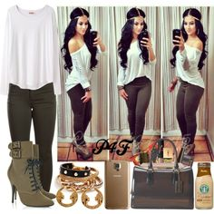 Passion 4Fashion: ;D by shygurl1 on Polyvore featuring polyvore fashion style Organic by John Patrick Pieces Furla GUESS Samsung Jane Iredale Urban Decay NARS Cosmetics Rimmel Dolce&Gabbana Yves Saint Laurent River Island