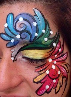 Margi Kanter    rainbow teardrops
