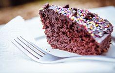 Dairy Free Chocolate Birthday Cake
