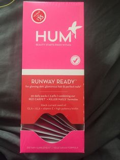 HUM Runway Ready l Vitamin Supplements Red Carpet & Killer Nails (30 day pack) #HumNutrition