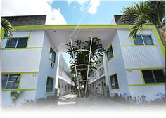 MiMo Architecture - 1200-10 Marseille,  Normandy Isles National Register District (Miami Beach, Florida)