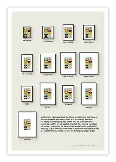 SWAN no.4 Giclee Print Mid Century Contemporary Modern