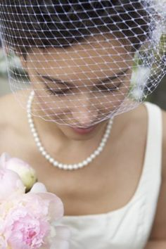 DIY: How to Make a Birdcage Veil - Project Wedding