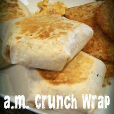 Lou Lou Girls : a.m. Crunch Wrap Copycat