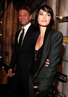 Sean Bean and Lena Headey