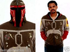 """Boba Fett Hoodie for James?"" I thought until I saw that it was like two hundred dollas."