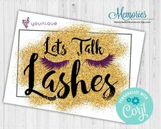 Younique Lets Talk Lashes Postcard image 1 I Sent You, File Image, Independent Consultant, Chalkboard Signs, Marketing Materials, Star Print, Teacher Appreciation, Younique, Photo Book