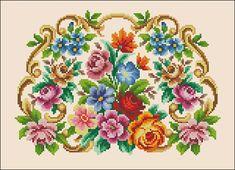 Handbag Floral luxury vintage berlin woolwork