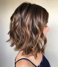 Calling all the brunettes! We have collected the latest brown short hair ideas that will make you look stylish, you will also find the latest brunette color shades if you always hold to brown hair color. Related PostsNew and fresh look ladies short brown hairBrown Bob Hairstyles 2017 top stylesThe 5 Most Caramel Highlights for …