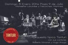 Orquesta típica Tanturi en Martínez