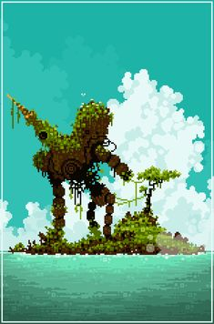 Mossy Robo by Sky-Burial