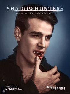 Vampire Simon Lewis || Shadowhunters Season 2 on Freeform