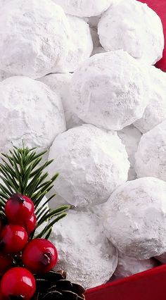 Snowball Christmas Cookies ~ Simply the BEST! Buttery, never dry, with Everyone…