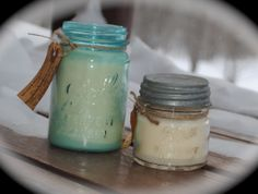 bayberry candle company llc one of a kind turquoiseblue mason jar candle are beautiful classic mason jar