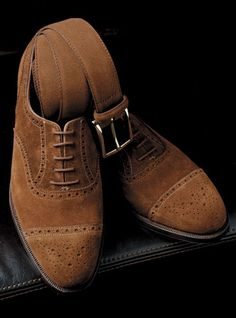 05951f4f10a Dark brown suede shoes. Great for the autumn. Suede Oxfords