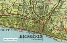 65 Best MAPS Brighton & Hove images