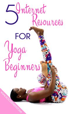 There's so much information for getting started with yoga out there. I'm simplifying it for you by sharing my top 5 resources for yoga beginners. Click through to start your yoga practice today.