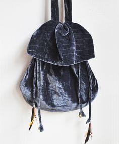 Something Else velvet mini bag