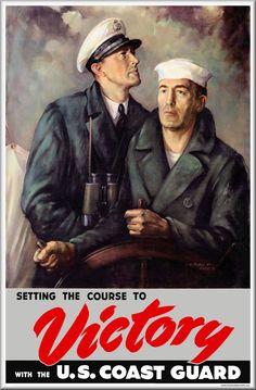 Image result for coast guard world war 2 poster