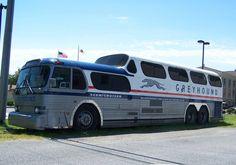 Vintage Scenicruiser Grey Hound Bus