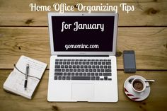 January is my favorite time of year to focus on my personal home office! Full of fresh starts thanks to the new calendar year energizing my business, its also the halfway point for the kids school year and the perfect time to tune things up. Check our our post on the 4 things you need to do NOW! Home Office Organizing Tips for January | GOMOMINC.com