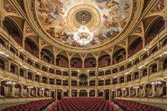 Majestic Auditorium Photo Series by Zsolt Hlinka – Fubiz Media Empty State, Large Crowd, Hanging Frames, Borders For Paper, Photo Series, Auditorium, Shadow Box, Budapest, Barcelona Cathedral