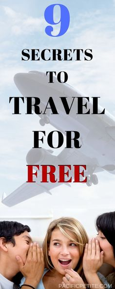 Love to travel but you can't seem to find anything in your budget? Travel can be completely affordable, well free in fact! This article will have you quenching your wanderlust in no time and traveling to amazing destinations for FREE Ways To Travel, Travel Info, Free Travel, Cheap Travel, Travel Deals, Travel Advice, Budget Travel, Travel Destinations, Amazing Destinations