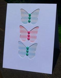 allycat cards: Multi Challenge Butterflies