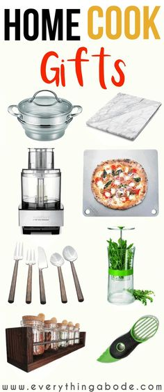 Choosing the perfect gift for foodies can seem hard but it really doesn't have to be. This post shares 10 unique gifts for the at-home cook who seemingly has everything Unique Gifts For Men, Gifts For Women, Gifts For Friends, Gifts For Him, Diy Gifts, Best Gifts, Gifts For Cooks, Gifts For Foodies, Home Chef