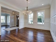 Chandelier Burgundy Room, I Love House, Places To Rent, Empty Room, Living Room Remodel, Dream House Plans, Closet Bedroom, Chicken Breasts, Decorating On A Budget