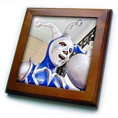 "Alabama, Mardi Gras Museum of Mobile, statue - US01 WBI0143 - Walter Bibikow - 8x8 Framed Tile by 3dRose. $22.99. Inset high gloss 6"" x 6"" ceramic tile.. Solid wood frame. Keyhole in the back of frame allows for easy hanging.. Cherry Finish. Dimensions: 8"" H x 8"" W x 1/2"" D. Alabama, Mardi Gras Museum of Mobile, statue - US01 WBI0143 - Walter Bibikow Framed Tile is 8"" x 8"" with a 6"" x 6"" high gloss inset ceramic tile, surrounded by a solid wood frame with pre-drilled keyhole for..."