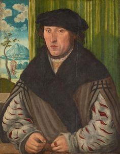 ab. 1515 Wolf Traut - Portrait of a man
