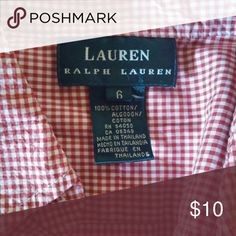 Ralph Lauren Button down Worn once or twice- no signs of wear Ralph Lauren Tops Button Down Shirts
