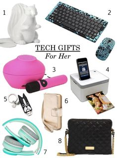 Holiday Gift Guide Tech Gifts For Her