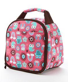 Look at this #zulilyfind! Rainbow Owl Gabby Insulated Lunch Bag #zulilyfinds