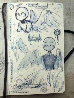 Art Sketchbook Inspiration Ideas Cartoon Art Styles, Cute Art Styles, Art Drawings Sketches, Cute Drawings, Arte Sketchbook, Drawing Base, Wings Drawing, Ship Drawing, Drawing Expressions