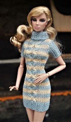 Dress clothes for Fashion Royalty, Poppy Parker, Barbie, FR2, dolls 12""