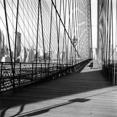 Robert Doisneau // Music: Maurice Bacquet - Le pont de Brooklyn 1960