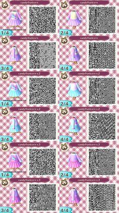 animal crossing new leaf light purple qr code - Google Search
